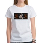 ATHEIST ORANGE Women's T-Shirt