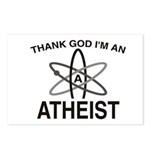 THANK GOD I'M ATHEIST Postcards (Package of 8)
