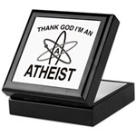 THANK GOD I'M ATHEIST Keepsake Box