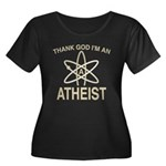 THANK GOD I'M ATHEIST Women's Plus Size Scoop Neck