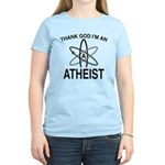 THANK GOD I'M ATHEIST Women's Light T-Shirt