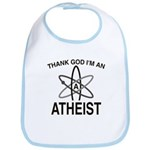 THANK GOD I'M ATHEIST Bib