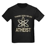 THANK GOD I'M ATHEIST Kids Dark T-Shirt