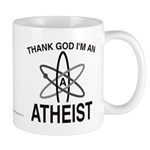 THANK GOD I'M ATHEIST Mug