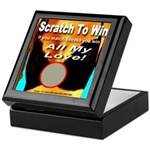 Scratch To Win All My Love! Keepsake Box