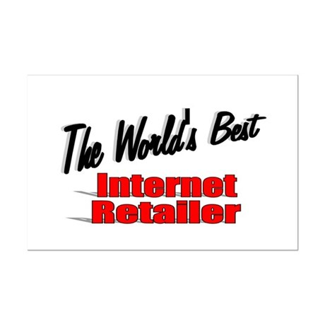 """The World's Best Internet Retailer"" Mini Poster P"