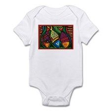 Stop Light Fish Infant Bodysuit
