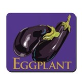 Eggplant/Aubergine Mousepad