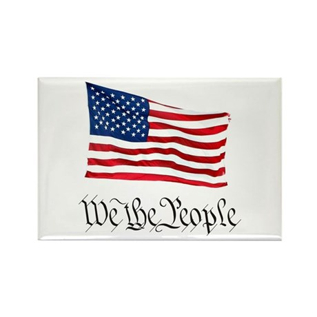 W.T.P. W/Flag Rectangle Magnet (10 pack)