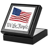 W.T.P. W/Flag Keepsake Box