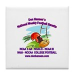 Football Gazette Tile Coaster