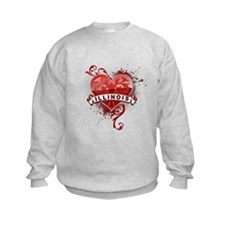 Heart Illinois Sweatshirt
