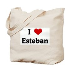 I Love Esteban Tote Bag