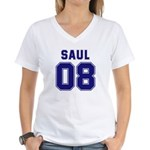 Saul 08 Women's V-Neck T-Shirt