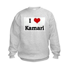 I Love Kamari Sweatshirt