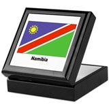 Namibia Namibian Flag Keepsake Box
