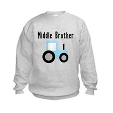 Middle Brother - Light Blue T Sweatshirt