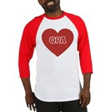Love Opa Baseball Jersey