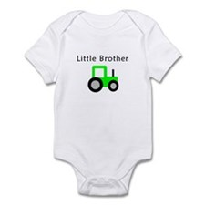Little Brother - Lime Tractor Infant Bodysuit