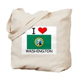 I Love Washington Tote Bag