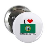 "I Love Washington 2.25"" Button"