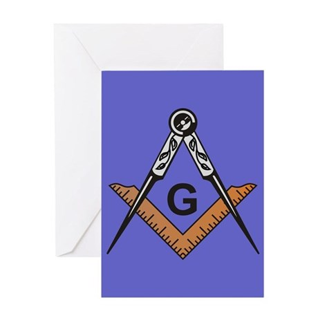 Masonic Get Well Greeting Card