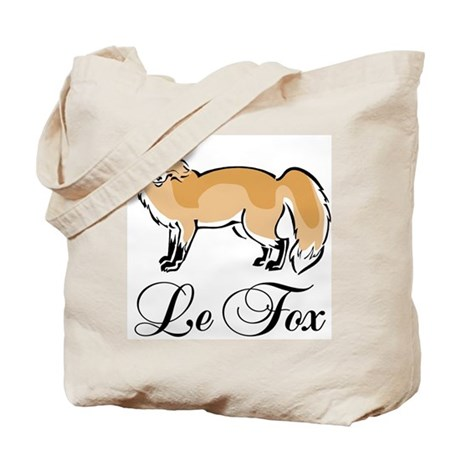 Le Fox Tote Bag