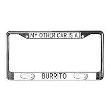 Burrito Lover's License Plate Frame