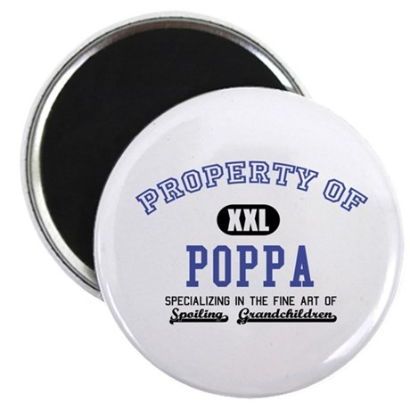 "Property of Poppa 2.25"" Magnet (10 pack)"