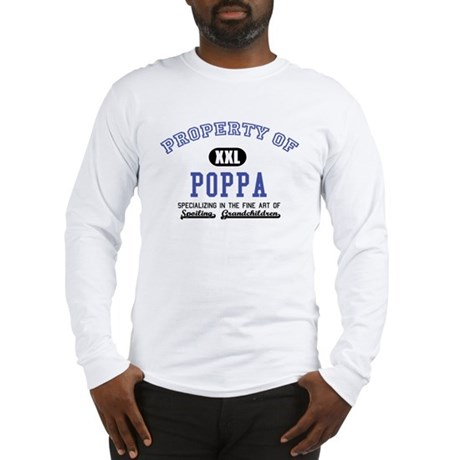 Property of Poppa Long Sleeve T-Shirt