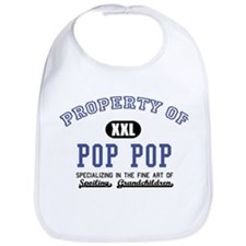 Property of Pop Pop Bib
