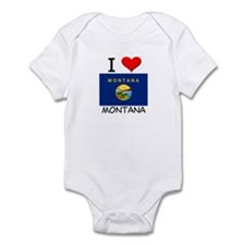 I Love Montana Infant Bodysuit