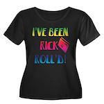 I've BeenWomen's Plus Size Scoop Neck Dark T-Shirt