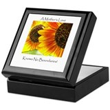 A Mother's Love Sunflower Keepsake Box