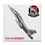 VFA-211 Checkmates Tile Coaster