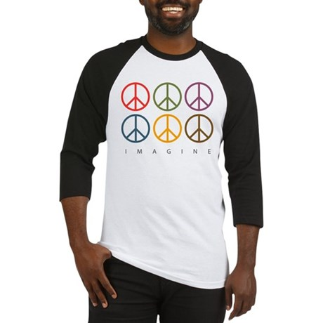 Imagine - Six Signs of Peace Baseball Jersey