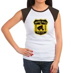 VA Beach Mounted PD Women's Cap Sleeve T-Shirt
