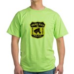 VA Beach Mounted PD Green T-Shirt