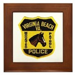 VA Beach Mounted PD Framed Tile