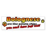 Potato Chips Bolognese Bumper Bumper Sticker