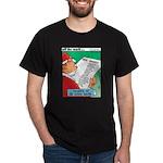 Feline Santa Dark T-Shirt
