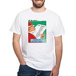 Feline Santa White T-Shirt