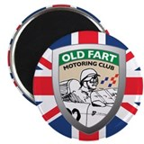 Old Fart Motoring Club Magnet