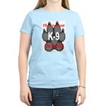 The greatest K9 on Earth! Women's Pink T-Shirt