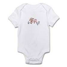 Infant Bodysuit with baby lamb