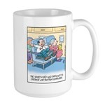 Lap Bottom Computer Large Mug