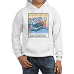 Lap Bottom Computer Hooded Sweatshirt