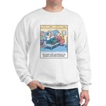 Lap Bottom Computer Sweatshirt
