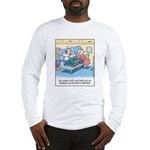 Lap Bottom Computer Long Sleeve T-Shirt
