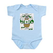 Lucas Family Crest Infant Creeper